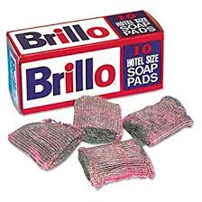 Brillo or SOS Pads, Hotel Size, 15/Box - 12/Case