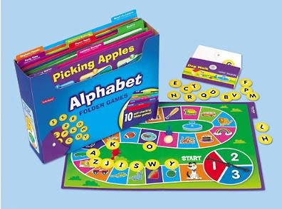 Alphabet Folder Game Library - (Lakeshore Learning FF197)
