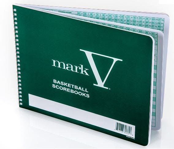 Mark V Basketball Official Scorebook