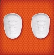 Bike 3-Layer Pro-Lite Thigh Pad Set, Adult/Youth (#BAIT50B) - Pair