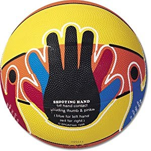 Hands-On Basketball, Teaches Proper Hand Shooting Positions, Junior Size 5 - 61137