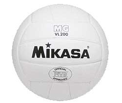 Mikasa VL200-18 Volley Ball, 18 Panel Leather