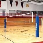 32' X 39 Inch Spalding 1M Elite System Volleyball Net, Vinyl Coated Steel Cable - 66-020