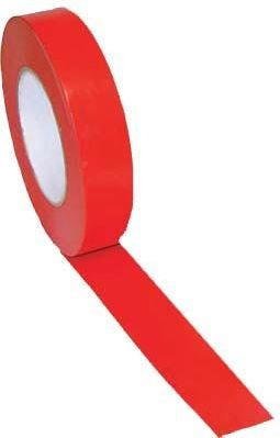 "1"" X 60 Yds Vinyl Floor Marking Tape, Red"