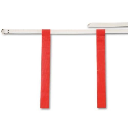 Adjustable Flag Belt With 2 Flags Attached With Hook-And-Loop Fasteners - Each