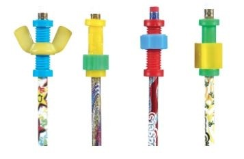Pencil Set with Fidgets, 4/Set