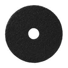 19 Inch Black Stripping Pad, Americo - 5/Case