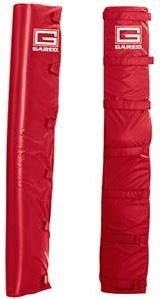 Safety Post Pad - Red - Pair - 66-773