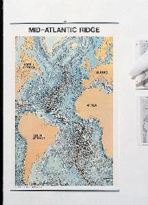 Mid-Atlantic Ridge Wall Chart - WL7076T