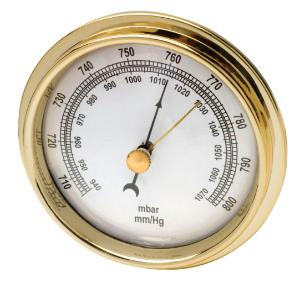 Dial Barometer, Portable, 2-3/4 In. Diameter - 231604