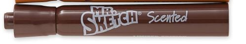 Mr. Sketch Scented Instant Watercolor Marker - Brown (Cinnamon)