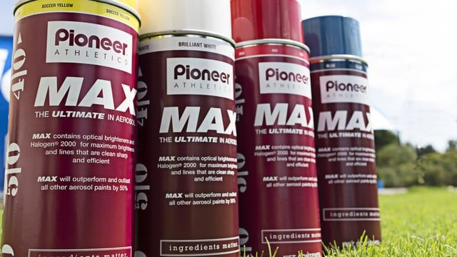 MAX Aerosol, Pioneer Field Marking Paint, Specify Color_________________ 22 Oz - 12/Case