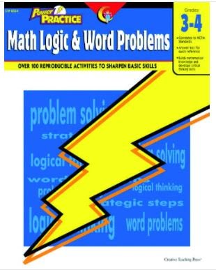 Math Logic & Word Problems, Grade 3-4