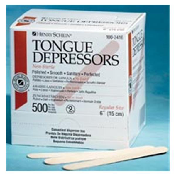 Tongue Depressors Non-Sterile - Junior - 500/Box - 90023