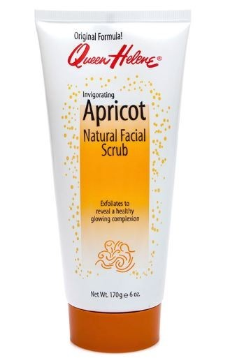 Facial Scrub - Queen Helene Apricot Natural, QH-221547, 6 oz