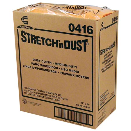 Chix 416 Stretch N Dust Cloth - 23-1/4 X 24 - 100/Case