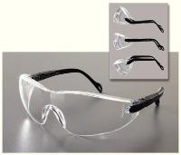 Safety Glasses, Clear Frame, Clear Anti-Scratch/Fog/Static Lens - WLS40395-B