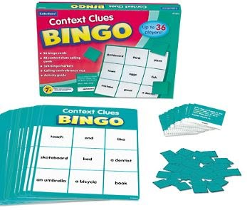 Context Clues Bingo - (Lakeshore Learning FF323)