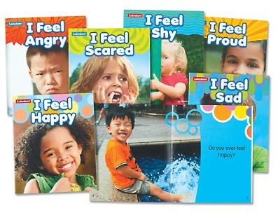Moods & Emotions Poster Pack and Book Set - (Lakeshore Learning PP184, FF465)