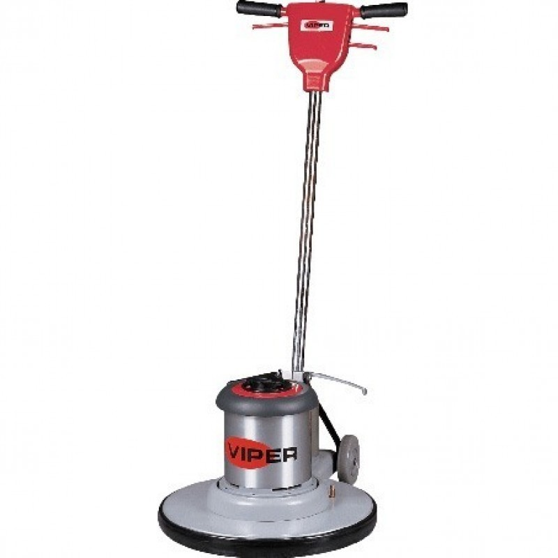 20 Inch Floor Buffing Machine, 175 RPM, 1-1/2 HP Motor, Pad Holder/Driver - Viper