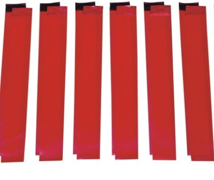 Flag Football Replacement Flags, Specify Color - 12/Set