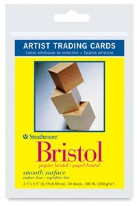 Artist Trading Card Frame Cards - 20/Pkg 300 Series (DB 13321-1010)