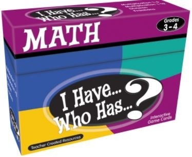 I Have, Who Has? Math Card Game - Gr 3-4