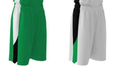 Girls' Basketball Shorts, reversible, Specify Colors, Sizes: S-XXL