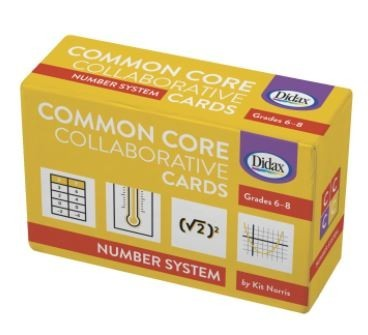 Common Core Cards-Number system