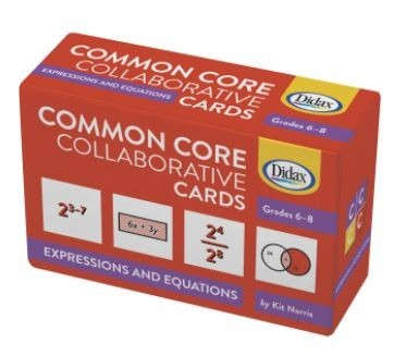 Common Core Cards-Expressions and Equations 9-1502091-030