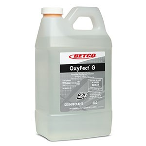 Oxyfect G Peroxide Cleaner Disinfectant, Betco 382 07038247, 2L - 4/Case