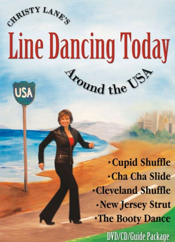 Christy Lane's Line Dancing Today DVD CD Set - 16-042