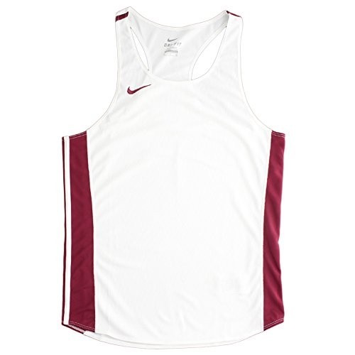 Nike Mens & Women's Shorts, Maroon/White, 2 Color Custom Screen Print, White And Gray, 2-4 Inch District logo, Sizes XS-XXL