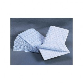 "Disposable Washcloths - Non-Woven, 10"" x 13"" - Latex Free - 500/Case - Dukal 97230"