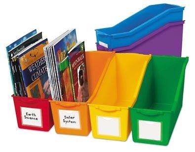 Connect & Store Book Bins, 6/Set - (Lakeshore Learning AA758X)