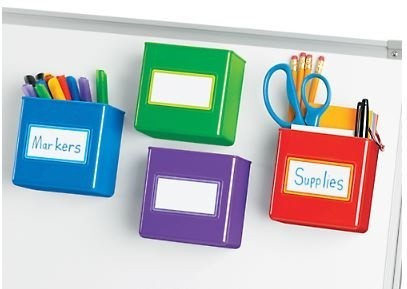 Magnetic Storage Boxes, 4/Set - (Lakeshore Learning PP281)