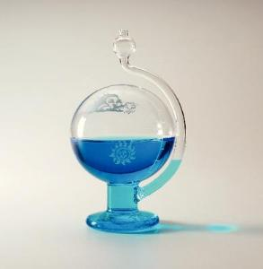 Weather Globe Liquid Barometer - 470235-794