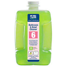 #6 Bathroom & Bowl Cleaner, Pro-Link, Concentrated, 1:16 Dilution Item # B14203 - 1/2 Gallon - 2/Case - GREEN