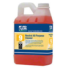 #9 Neutral All Purpose Cleaner, Pro-Link, Concentrated, 1:64 Dilution Item # B14206 - 1/2 Gallon - 2/Case - GREEN