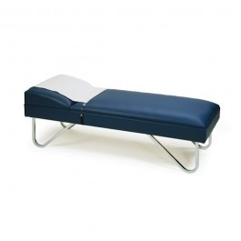 Varsity Recovery Couch, with Chrome Legs, Regimental Blue - 24534