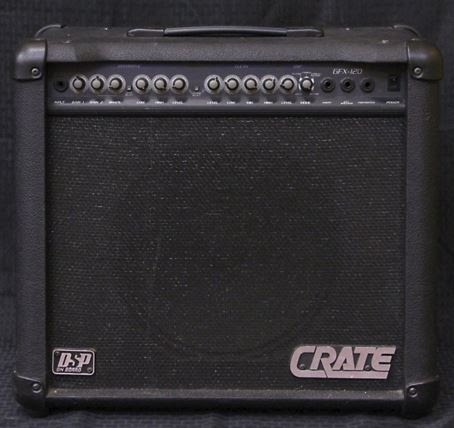 Amplifier - Crate Guitar Amplifier - 6FX120