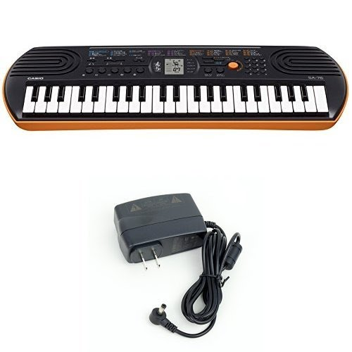Keyboard - Casio SA-76 with the Adapter