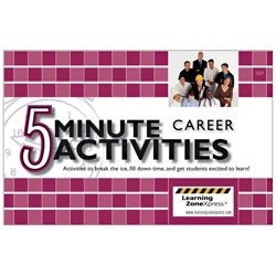 5 Minute Career Activities