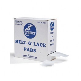 Cramer Heel and Lace Pads 2000/Case - 28123