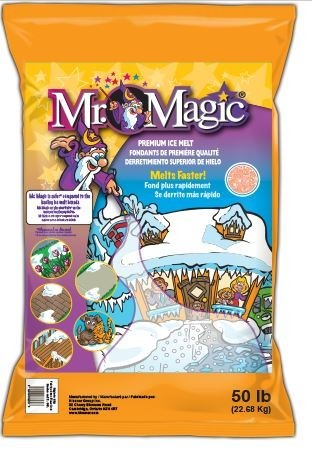 Ice Melt, Mr. Magic - 50/50 Lb. Bag - Pallet