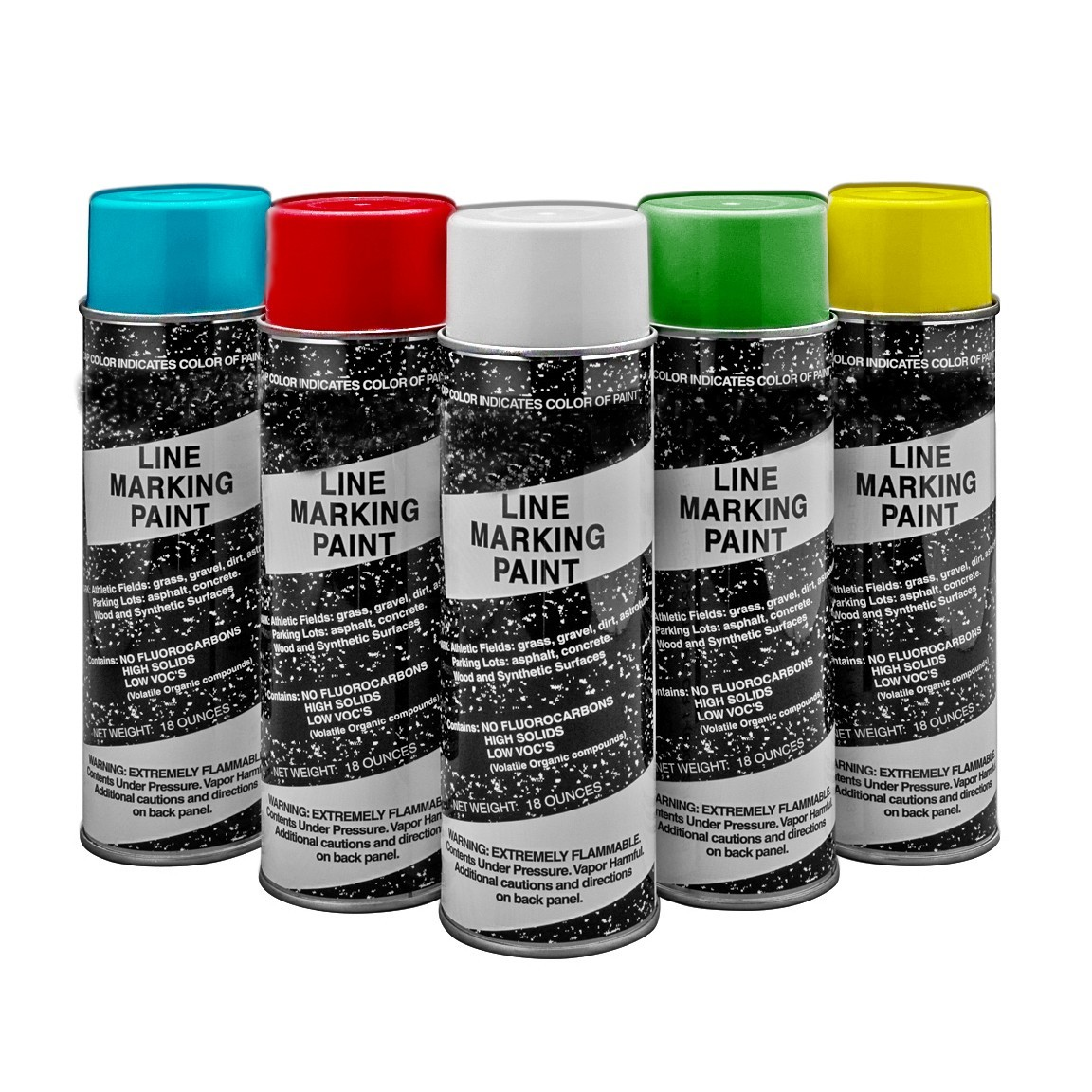 Striping, Field Marking Paint - Specify Color when Ordering - 18 Oz - 12/Case