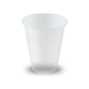 Plastic Drinking Cups 7 Oz , Clear, 100/sleeve - 2500/Case