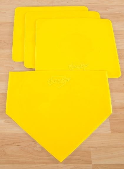 Stay N Play Indoor/Outdoor Bases - Yellow - 4/Set - 42-577