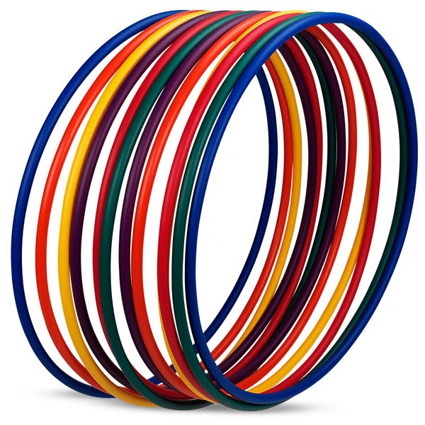 No-Kink Hula Hoops - 12/Set - PE01038(X)E111