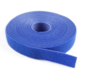 "Replacement Velcro Standard Straps (for Rolled Carpet) 4"" X 42' - Royal Blue"